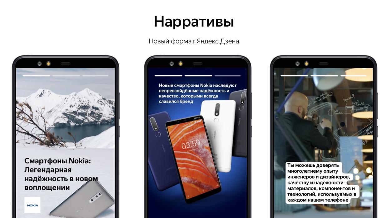 Нарративы Яндекс Дзен изобаржение